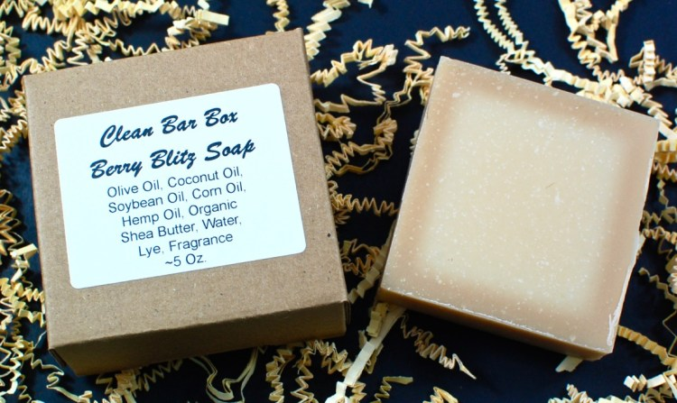 Berry Blitz soap