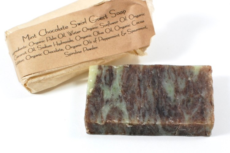 mint chocolate bar soap