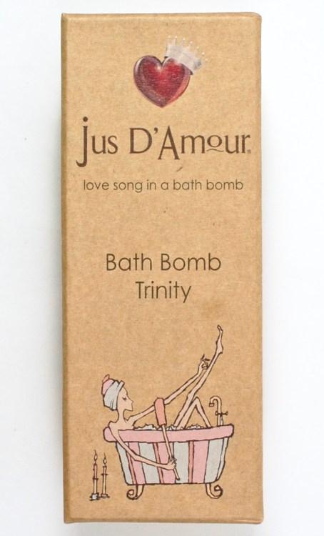 Jus D'Amore bath bombs