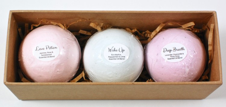 FabFitFun bath bombs