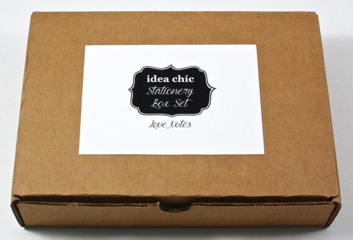 Idea Chic box