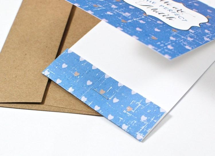 Idea Chic matchbook card