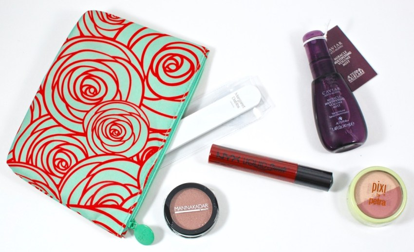 March 2016 Ipsy review