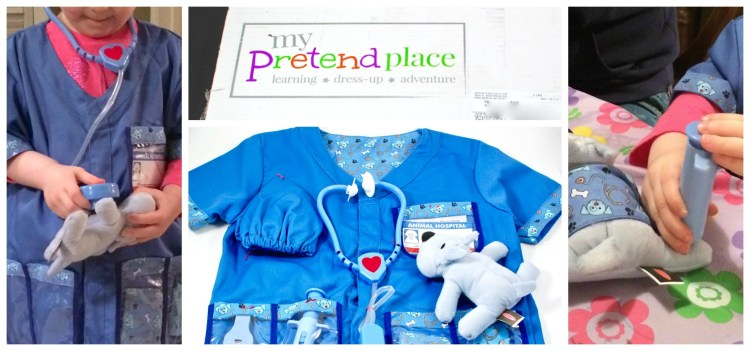 My Pretend Place March 2016 Dress Up Box Review & Coupon Code
