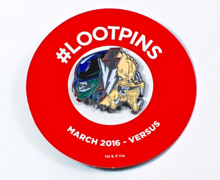Loot Crate March 2016 pin