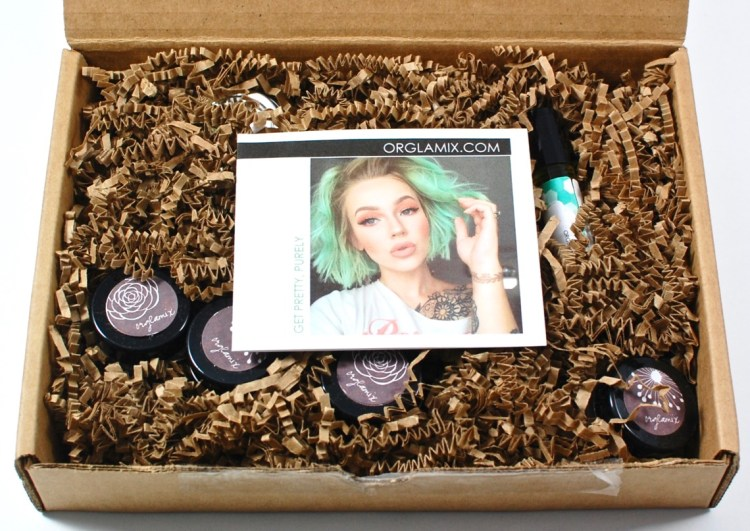 Orglamix beauty box review
