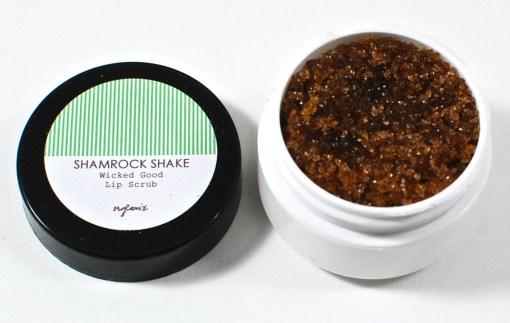 Orglamix lip scrub