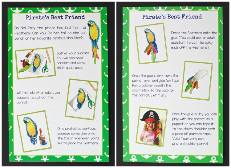 Bramble Box parrot project