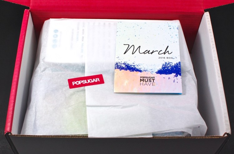 March 2016 POPSUGAR Must Have box