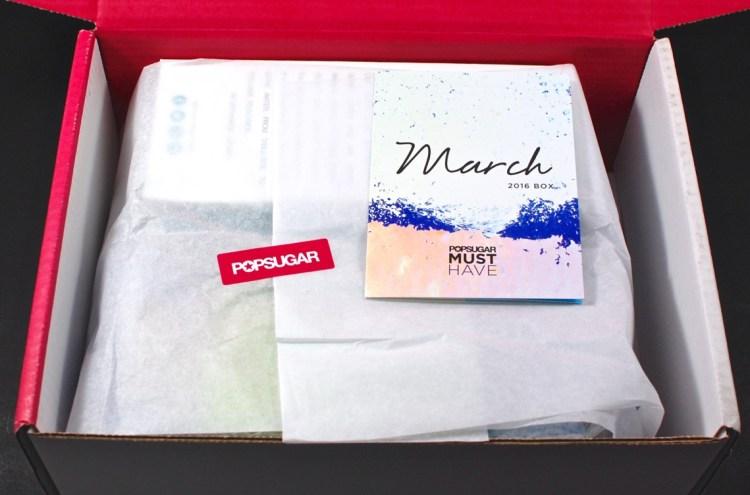 March 2016 POPSUGAR Must Have box
