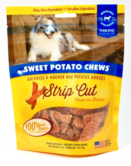 sweet potato chews dogs