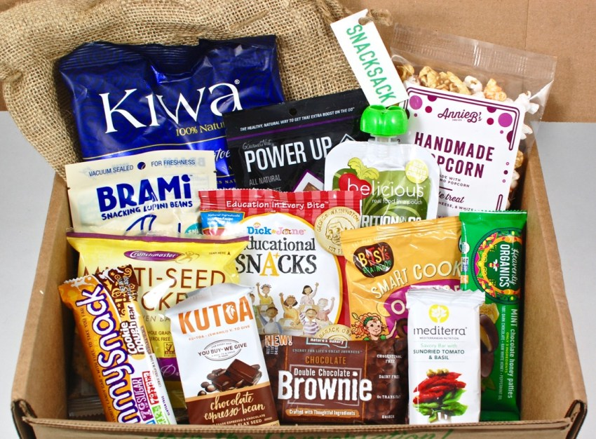 March 2016 SnackSack review