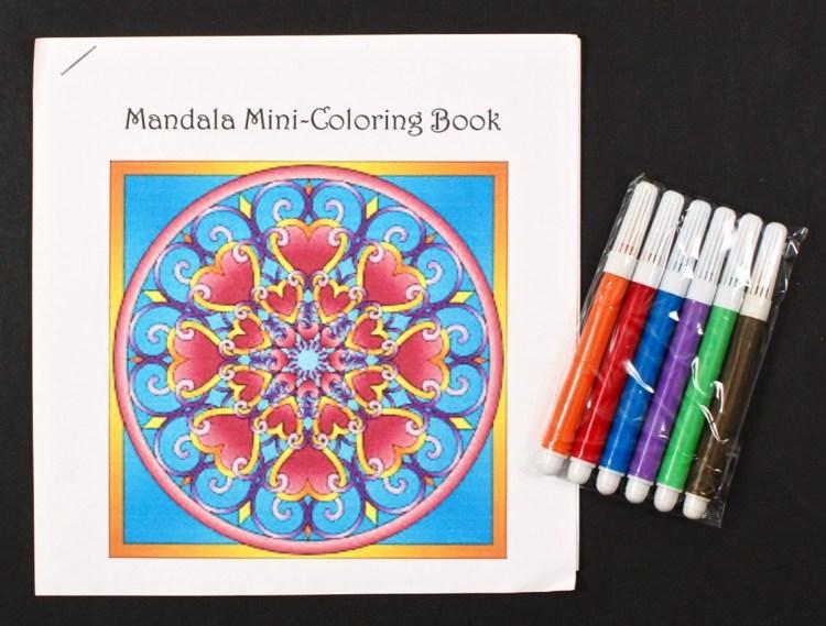 Color the Mandalas