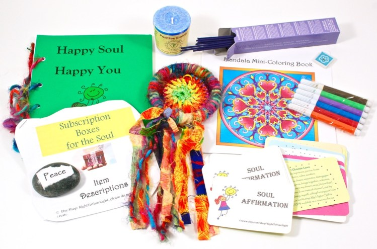 Subscription Box for the Soul March 2016 Review