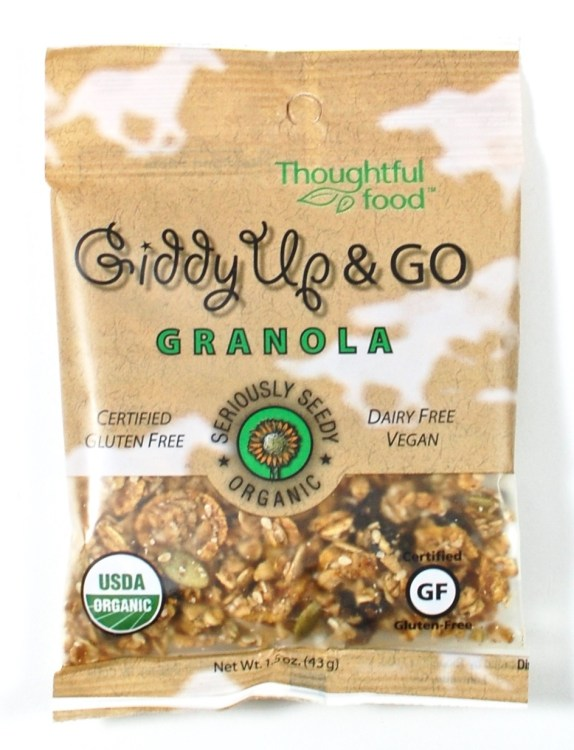 Giddy Up & Go granola