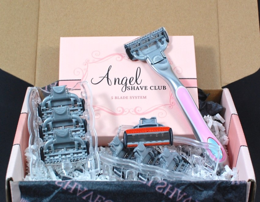 Angel Shave Club April 2016 review