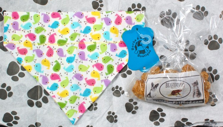 Barks Bandana SwagBag April 2016 Pet Subscription Box Review