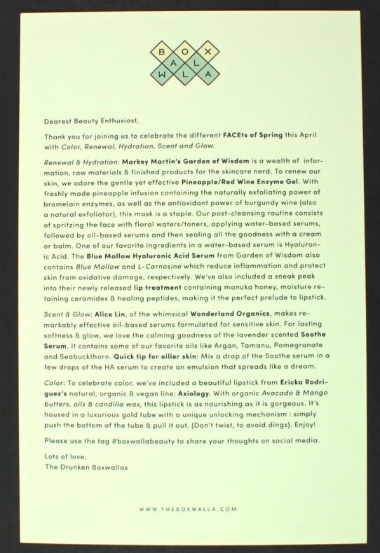 April 2016 Boxwalla review