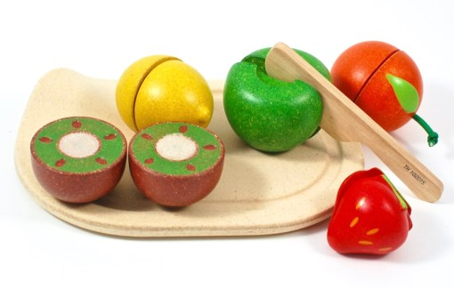 Plan Toys wooden fruit