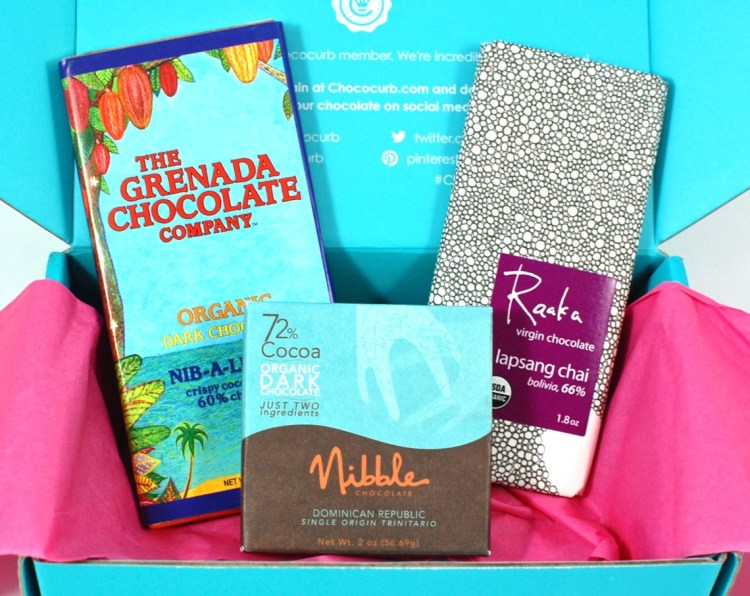 Chococurb April 2016 Mother's Day Chocolate Box Review