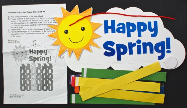 Happy Spring sign