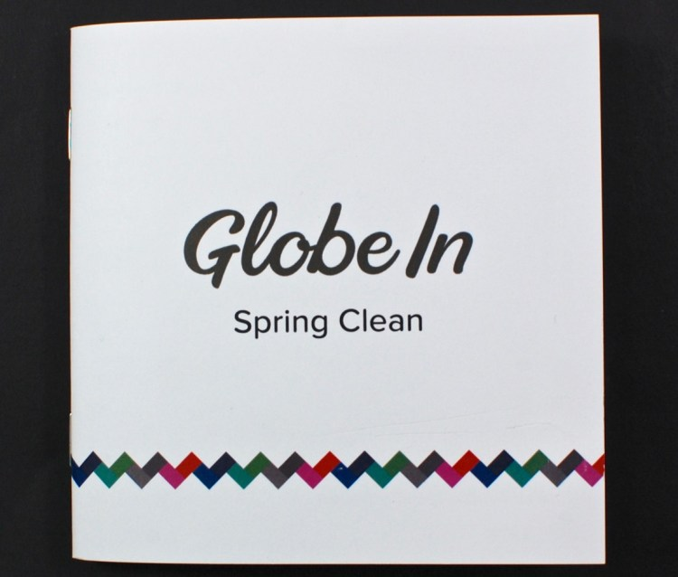 April Spring Clean GlobeIn review