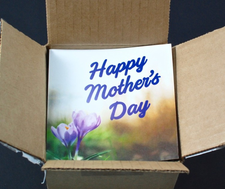 GlobeIn Mother's Day box