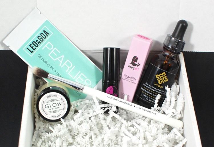 LaRitzy April 2016 Vegan Beauty Box Review