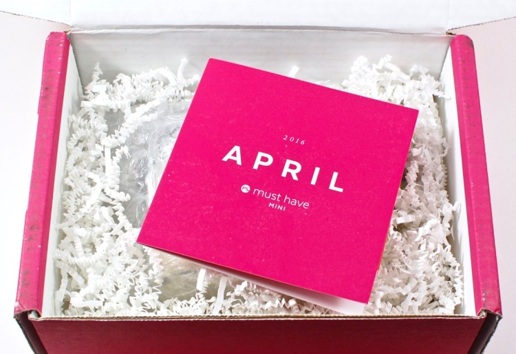 POPSUGAR Must Have Mini April 2016 review