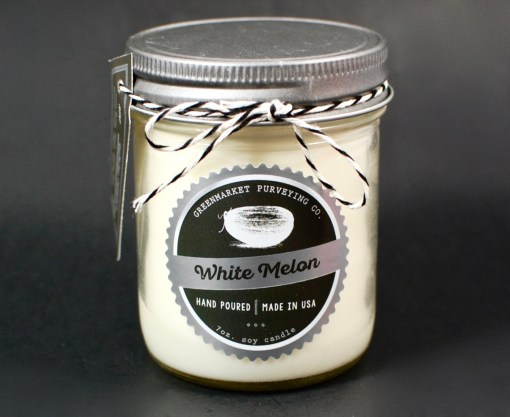 Greenmarket Purveying Co candle