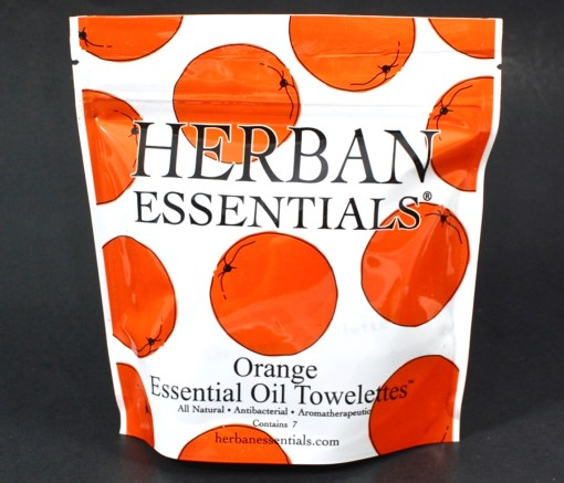 Herban Essentials towelettes