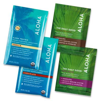 ALOHA free trial smoothie kit