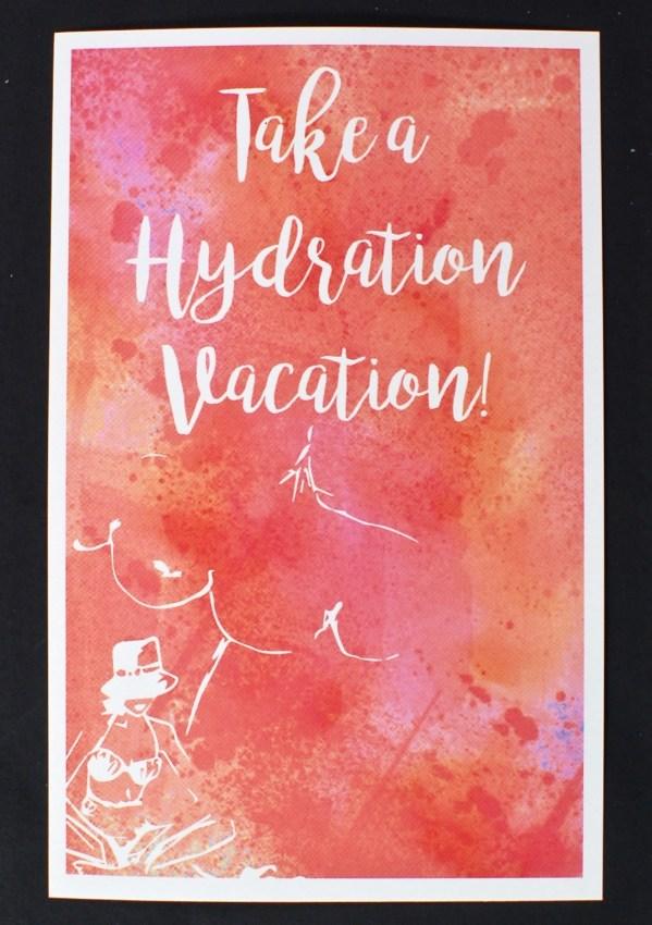 Beauty Box 5 hydration vacation