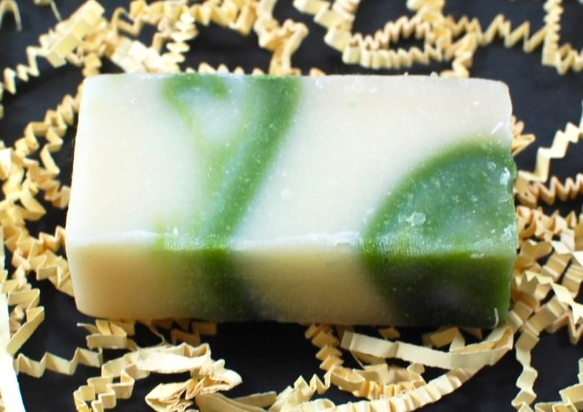 White Tea Mint soap