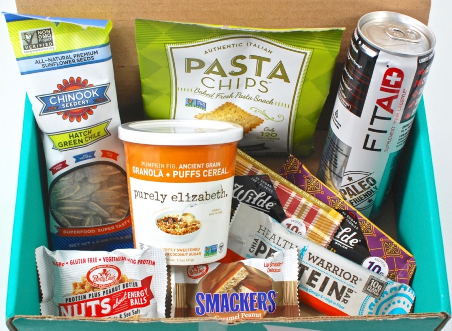 April 2016 Fit Snack review