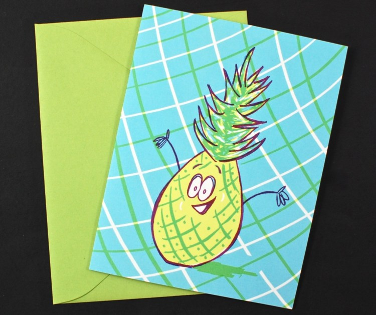 pineapple card