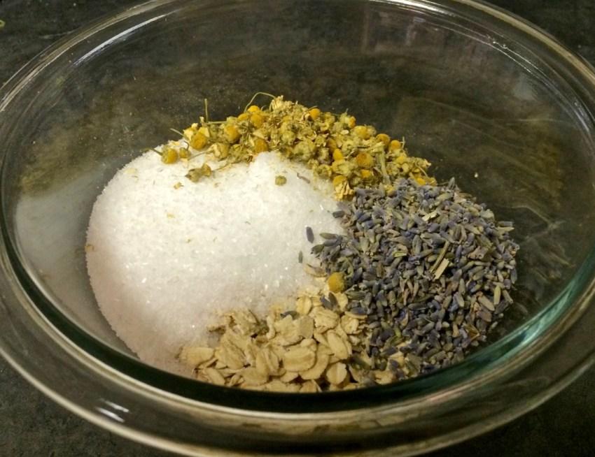 bath tea mixture