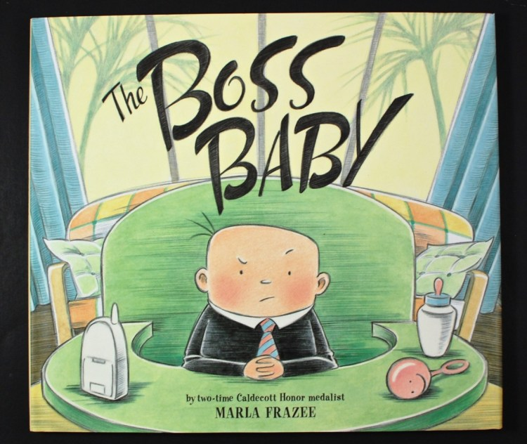 The Boss Baby book