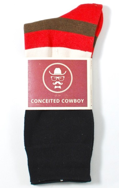 Conceited Cowboy socks