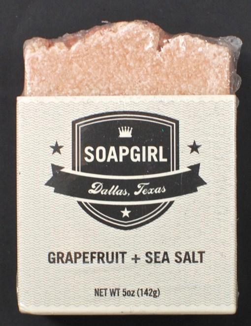 Soapgirl grapefruit soap