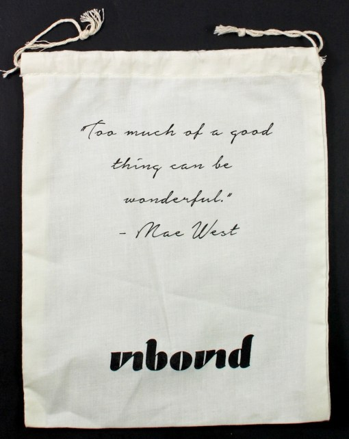unbound bag