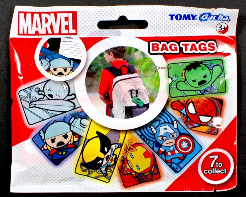 marvel bag tag