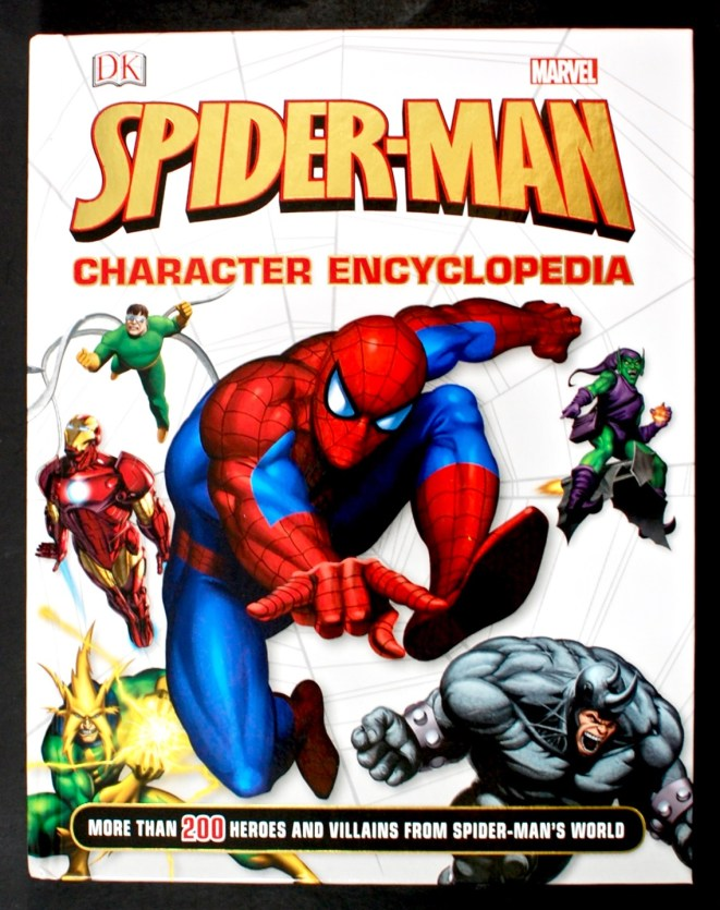 Spiderman character encyclopedia