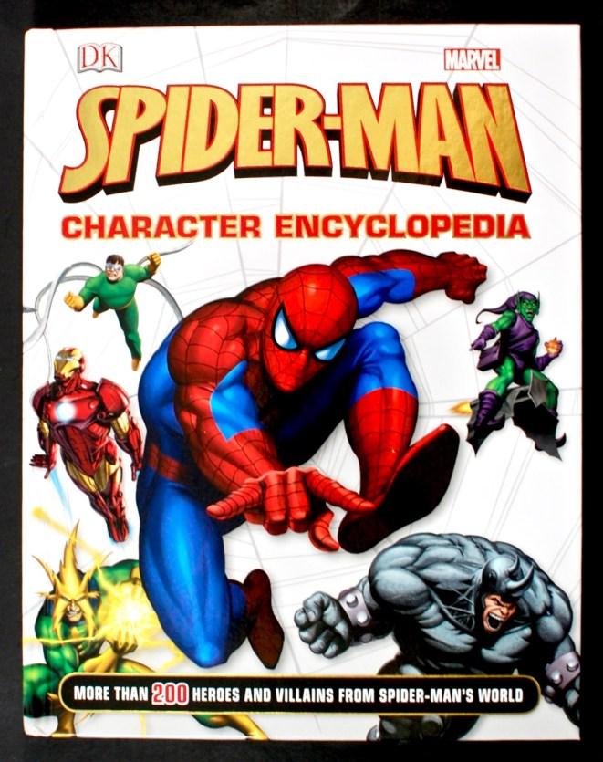 Spiderman character encyclopedia