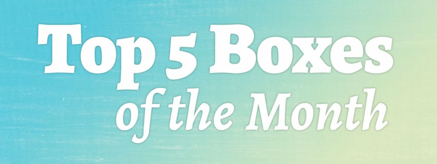 My Top 5 Best Subscription Boxes of July 2017