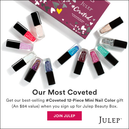 Julep FREE 12-Piece Mini Polish Set for New Subscribers