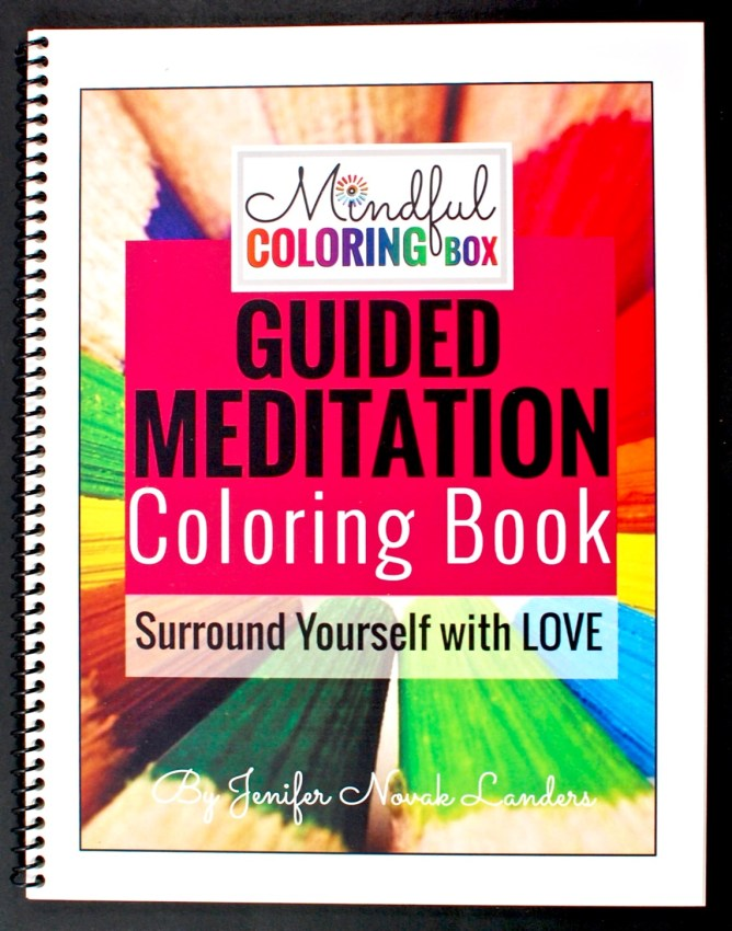 guided meditation coloring book