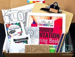May 2016 Mindful Coloring Box review