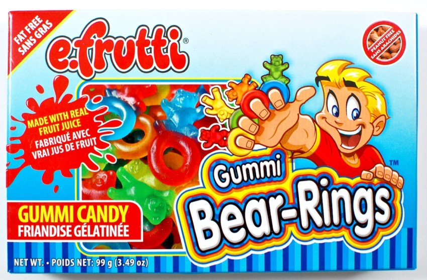frutti gummi bear rings
