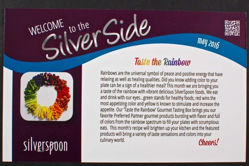 May 2016 Silver Spoon review